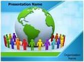 World Together PowerPoint Template, TheTemplateWizard