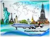 World Tour PowerPoint Template, TheTemplateWizard
