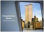World Trade Center PowerPoint Template, TheTemplateWizard