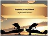 World War Planes PowerPoint Template, TheTemplateWizard
