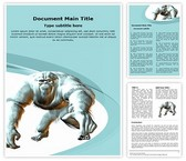 Yeti Word Template, TheTemplateWizard