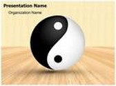 Yin Yang PowerPoint Template, TheTemplateWizard