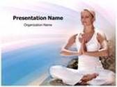 Yoga PowerPoint Template, TheTemplateWizard