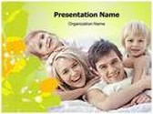 Young Family PowerPoint Template, TheTemplateWizard