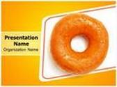 Yummy Donut PowerPoint Template, TheTemplateWizard
