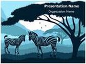 Zebra PowerPoint Template, TheTemplateWizard