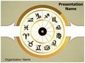 Zodiac Signs PowerPoint Template, TheTemplateWizard