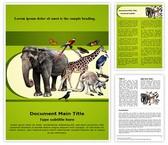 Zoology Word Template, TheTemplateWizard